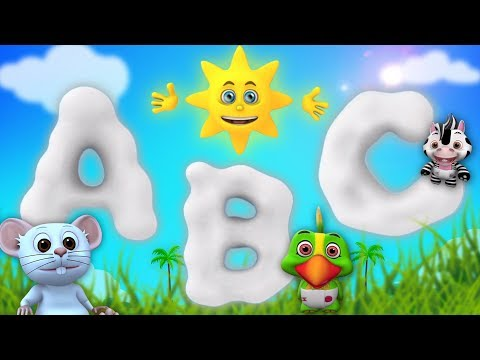 ABC Learning Songs For Toddlers  Kindergarten Nursery Rhymes  Cartoons  Little Treehouse