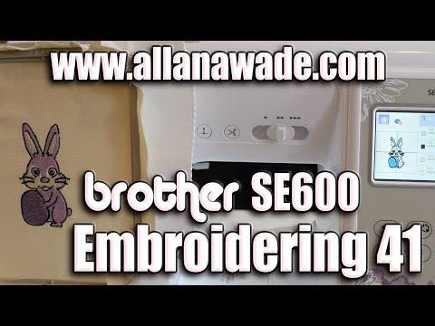 Easter Bunny Design | Brother SE600