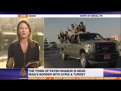 Today Iraq Military Operation Kurdish Forces Exchange Fire Current Events Kurdistan