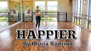 Lyrical Dance Tutorial - Happier by Olivia Rodrigo