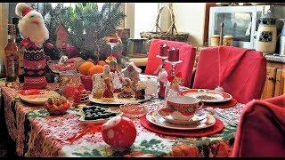 Новогодний декор стола в ГОД СВИНЬИ. 🎄Новогодние ЛАЙФХАКИ. Сервировка стола.