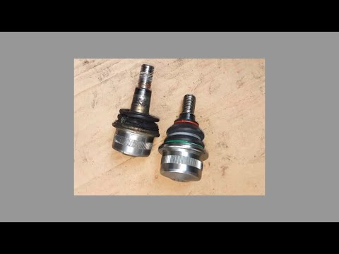 W220 Mercedes Benz Ball Joint Replacement DIY S500 S430