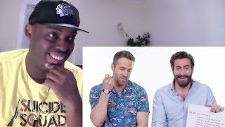 Ryan Reynolds & Jake Gyllenhaal Answer the Web's Most Searched Questions | WIRED REACTION!!!