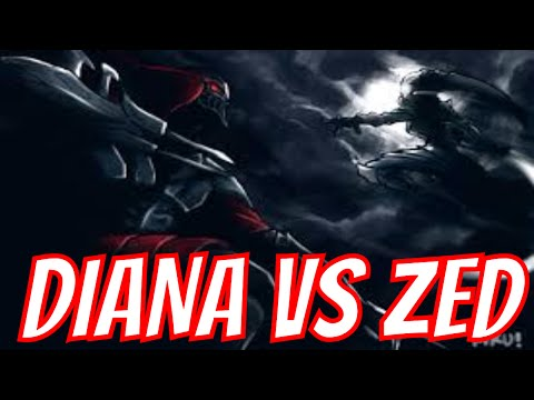 League of Legends - Diana Game Series  - Best fight Moments game Compilation - Melhores momentos