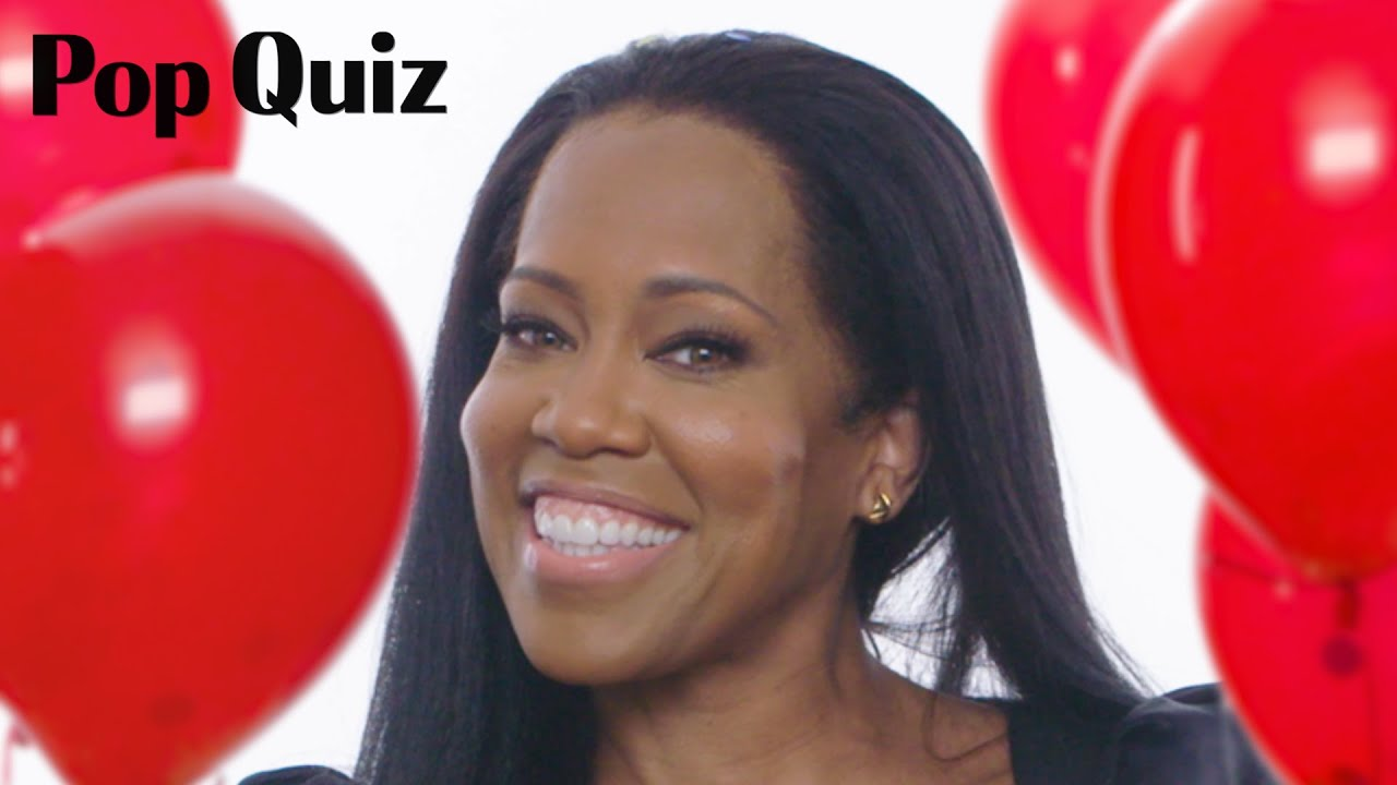 Regina King | Pop Quiz | Marie Claire