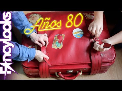Abro maleta con