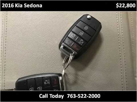 2016 Kia Sedona Used Cars Golden Valley MN - YouTube