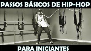 COMO DANÇAR HIP HOP | PASSOS PARA INICIANTES PART. 1 #BROWNAJUDA