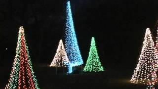 Evening at the Wichita Kansas Botanical Gardens