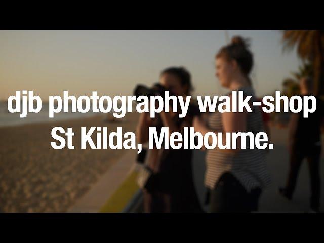 djb Photography Walk Melbourne, St Kilda, Feb 7, 2016
