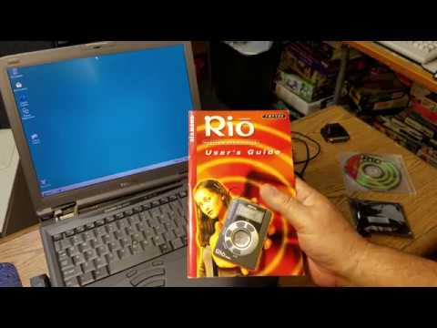 The very 1st portable MP3 player Diamond Multimedia Systems Rio