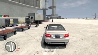GTA IV 2010 Mercedes Benz E63 AMG Test Drive Fun --DOWNLOAD LINK BELOW--