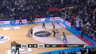 Will Hatcher! What a game, what an ending! (Partizan NIS - Cedevita, 25.3.2017)
