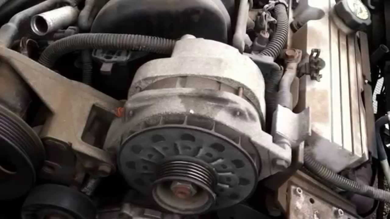 Buick Park Avenue Alternator Replacement  YouTube