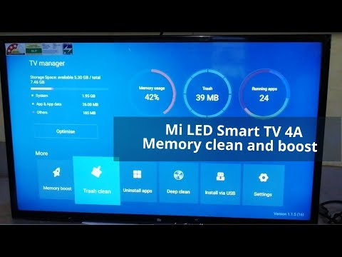 Xiaomi Mi TV 4A  memory clean and Boost  easy way
