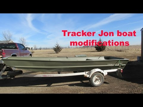 Tracker Jon boat modifications