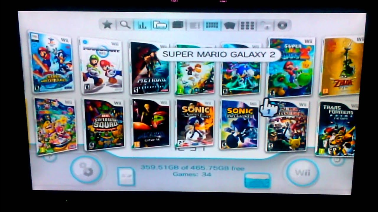 how to put wii games on external hard drive