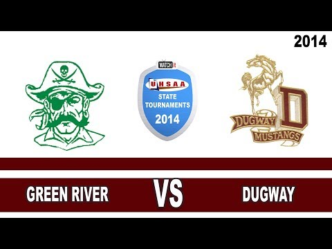 1A Volleyball: Green River vs Dugway High School UHSAA 2014 State Tournament Play-In Game