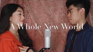 Aladdin OST | A Whole New World- Zayn Malik & Zhavia Ward (Cover by Fatima Louise x Neil Enriquez)