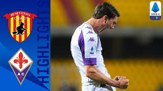 Benevento 1-4 Fiorentina | Decisiva la super tripletta di Vlahovic | Serie A TIM