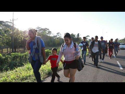 afpes: Migrantes hondureños ingresan a México con EEUU en la mira