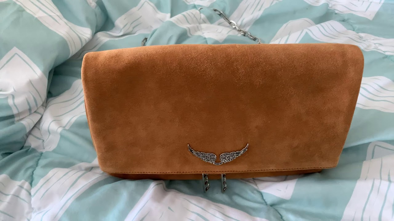 Zadig Et Voltaire Rocky Suede Bag Review Youtube