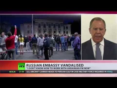 Lavrov: I don't know how to work with Ukrainian FM now