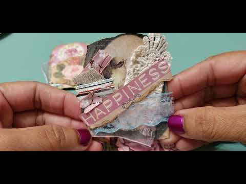 🌞 Project share: snippet collage paperclip embellishments 🌞