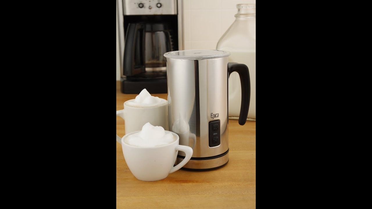 Review Epica Automatic Electric Milk Frother And Heater