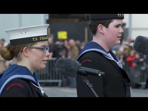 HMS PRINCE OF WALES Naming Ceremony