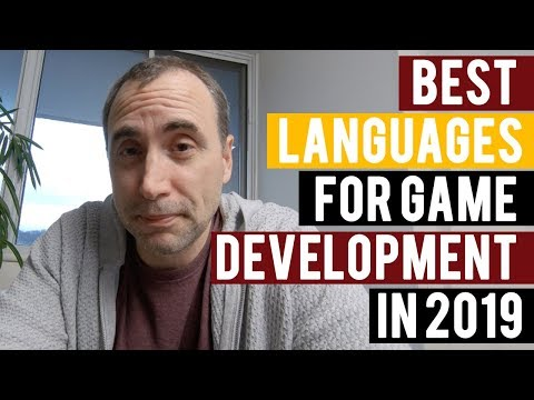 Best Languages For Game Development In 2019?