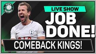 Juventus 2-2 Tottenham Hotspur | KANE & ERIKSEN Goals Save Spurs!