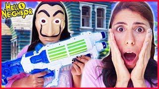 Gambar cover Gerçek Hayatta Hello Neighbor Komşu Kurtarma Eğlenceli Çocuk Videosu Dila Kent