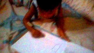 Aghinsa kusuma, drawing a truck