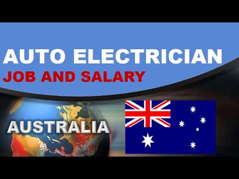 Auto Electrician Salary In Australia - Jobs And Wages In Australia