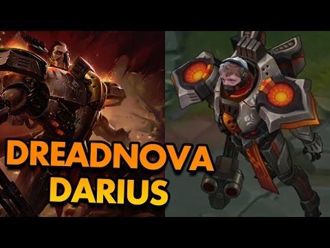NEW DARIUS SKIN IS LITERALLY A SPACE MARINE!? (DREADNOVA DARIUS GAMEPLAY) - PBE League of Legends