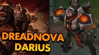 NEW DARIUS SKIN IS LITERALLY A SPACE MARINE!? (DREADNOVA DARIUS GAMEPLAY) - PBE League of Legends