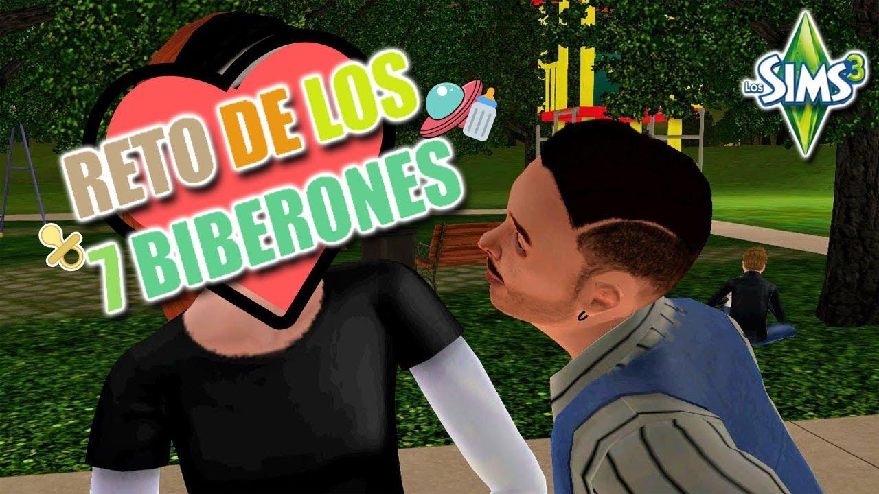 El Primer Romance De Robertino Ep 3 Reto De Los 7 Biberones Los Sims 3 Youtube