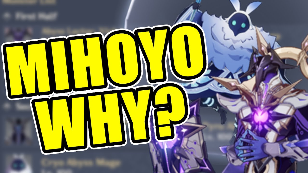 THE NEW 1.6 SPIRAL ABYSS LOOKS SCARY | Genshin Impact