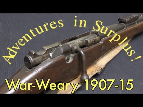 Adventures in Surplus: Early Battle-Worn Berthier 1907-15