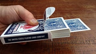 INCREDIBLE 'JUMPING CARD' MAGIC TRICK! (It Looks CRAZY!)