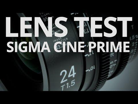 Sigma 24mm T15 Cine Prime - Lens Test 