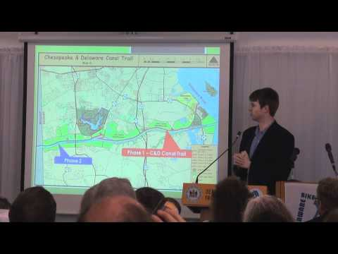 Delaware DNREC Sec. O'Mara unveils $7 million new trails & pathway proposal at Bike Summit