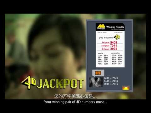 Magnum 4D Jackpot Video Part 3 of 3