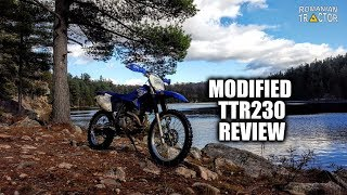 TTR230 Uncorked Review - Re-Geared & Re-Jetted!  Simple mods make it really come to life!