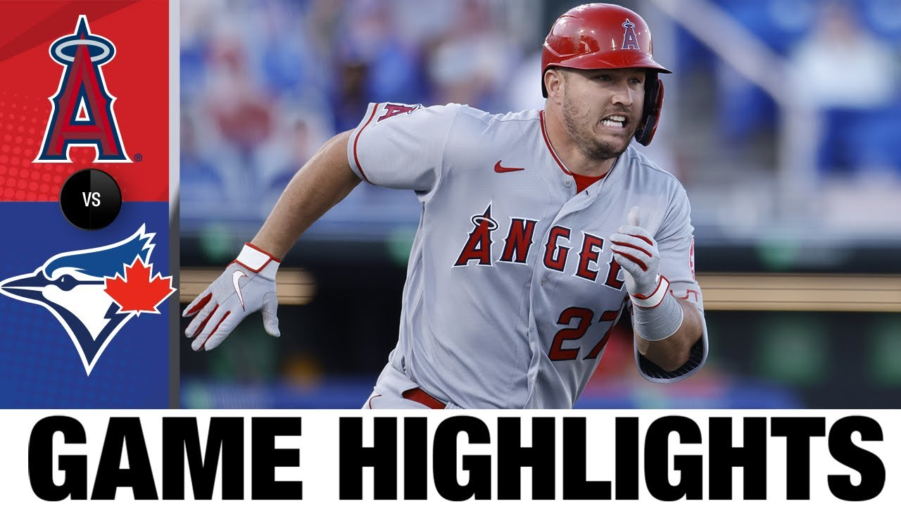 Download Angels vs. Blue Jays Game Highlights (4/8/21) | MLB Highlights