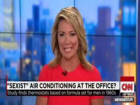 EPIC FAIL - Feminists Claim That Office Air Conditioning Is Sexist & Designed For Male Comfort