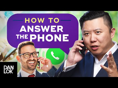 Speak English Fluently - How To Answer The Phone
