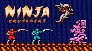 Ninja Crusaders (Ниндзя Крестоносцы) прохождение (NES, Famicom, Dendy)