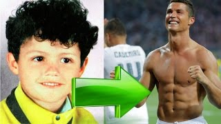 cristiano ronaldo then and now